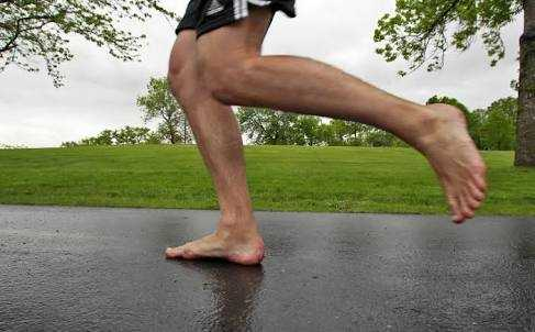 When in Rome be a barefoot runner